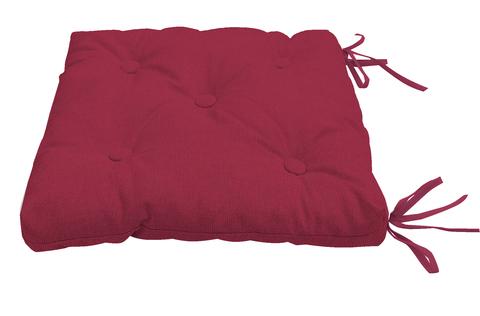 Подушка на стул Адриана малиновый