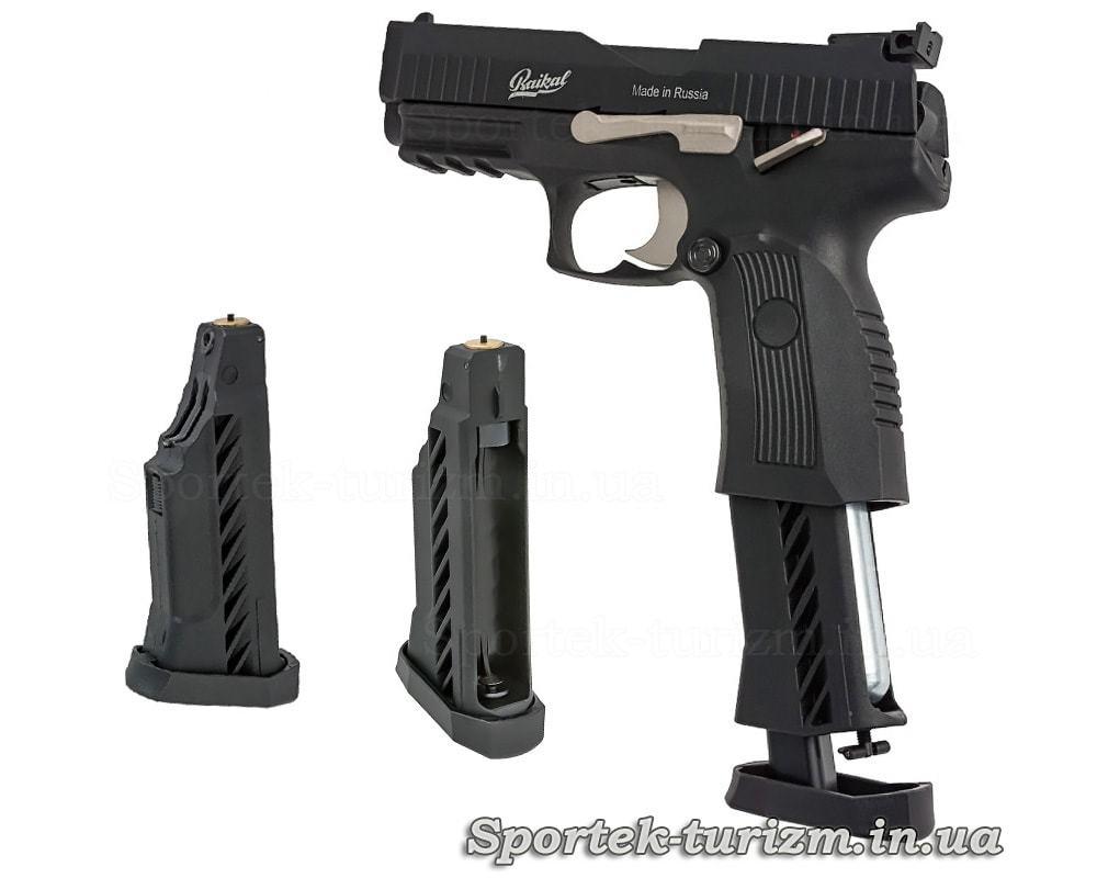 Магазин пневматического пистолета Baikal MP-655К