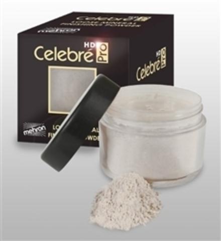 MEHRON Минеральная светоотражающая финишная пудра Celebre Loose Mineral Finish Powder - Translucent (Прозрачный), 12 г