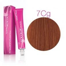 Matrix SOCOLOR.beauty: Copper Gold 7СG блондин Медно-Золотистый, краска стойкая для волос (перманентная), 90мл