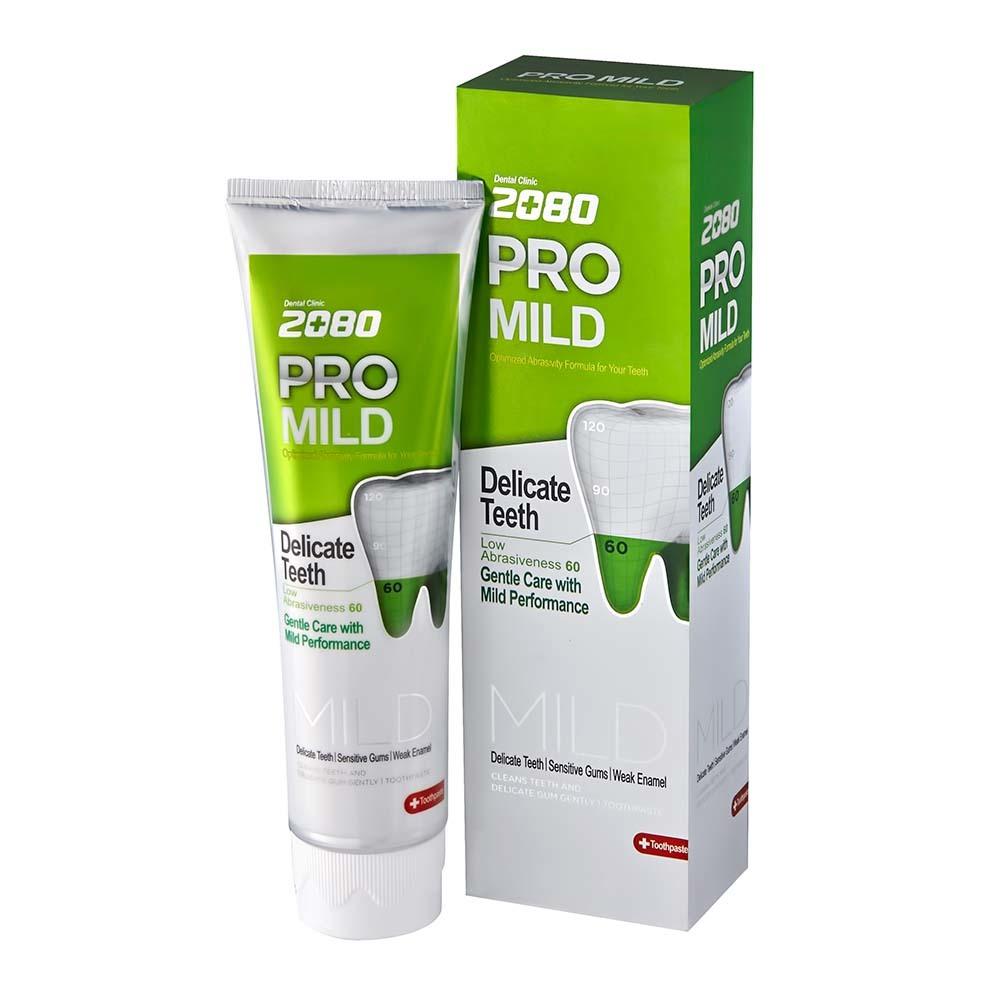 Зубная паста 2080 Мягкая Защита для чувствительных зубов и десен