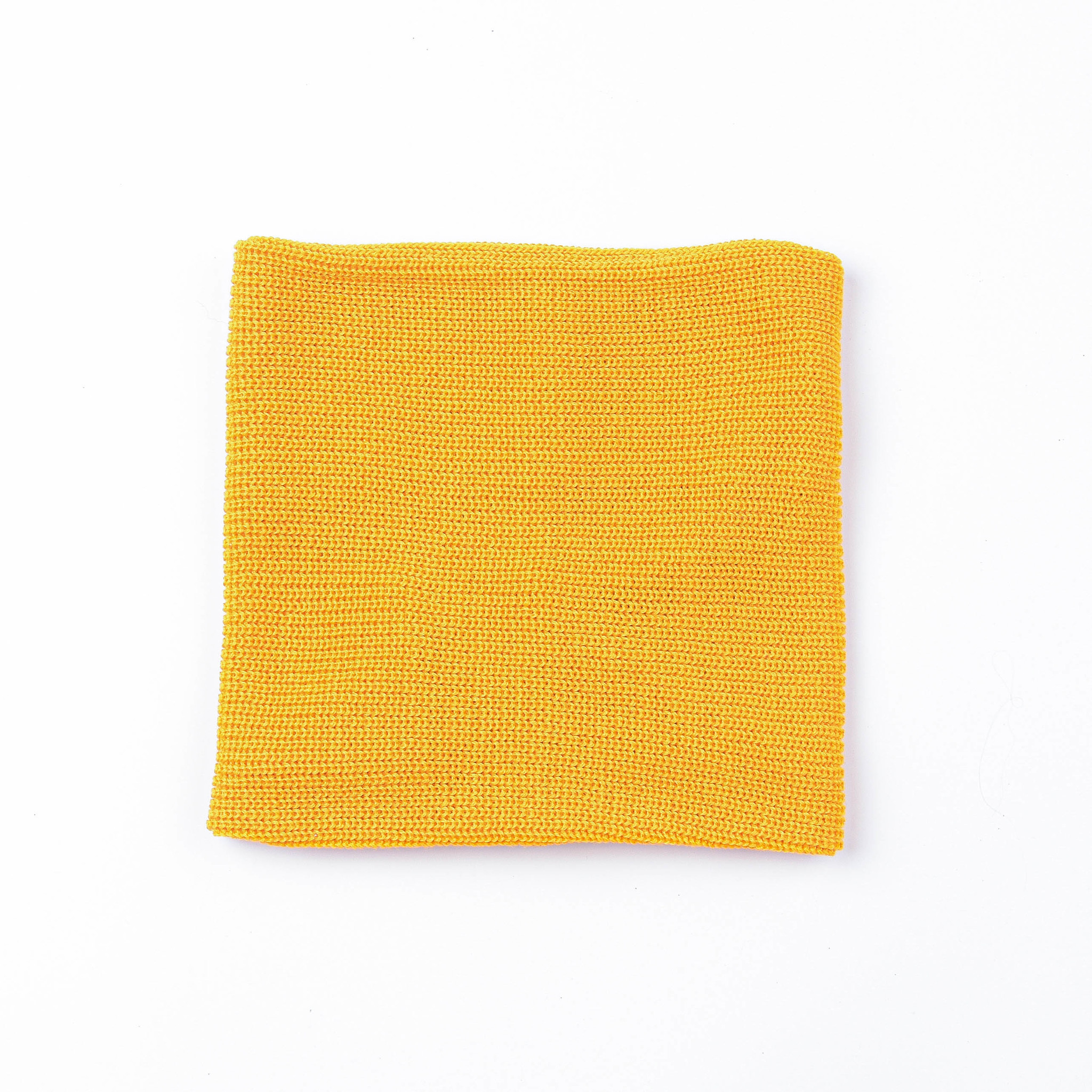 Knitted snood - Mustard