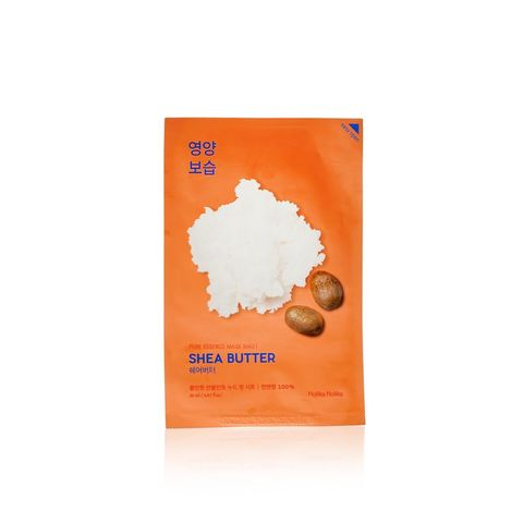 Питательная тканевая с маслом ши Holika Holika Pure Essence Mask Sheet Shea Butter