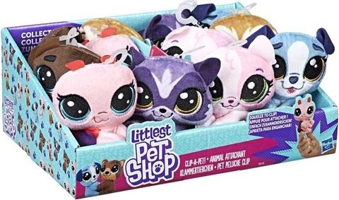 Littlest Petshop Plush Clips Asst Wholesale