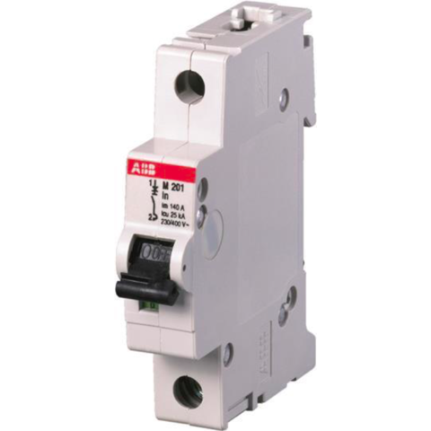 Автоматический выключатель 1-полюсный 25 A, тип  -, 12,5 кА M201 25A. ABB. 2CDA281799R0251
