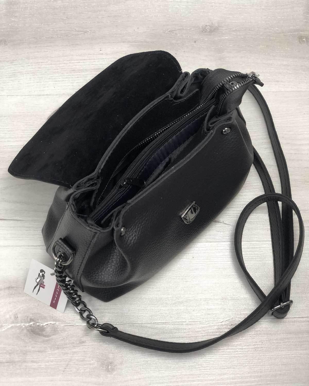 Молодежная сумка Софи черного цвета