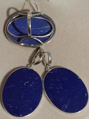 Далата (кольцо + серьги из серебра)