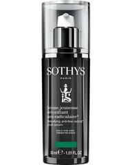 Омолаживающая сыворотка для детокса кожи (эффект детокс-процедуры) Sothys Detoxifying Anti-Free Radical Youth Serum Anti-age, 30 мл
