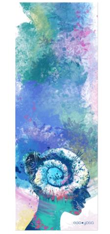 Коврик для йоги Summer из микрофибры и каучука 183*66*0.3 см