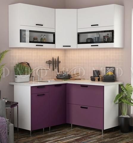 Кухня Угловая Техно NEW 1,4-1,4 м №1