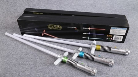 Star Wars The Force Awakens Lightsabers