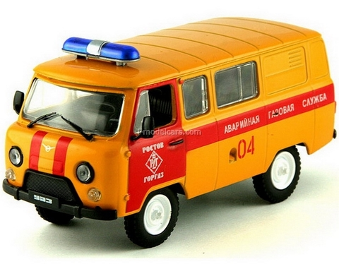 UAZ-3909 Emergency Gas Service Russia 1:43 DeAgostini Service Vehicle #4