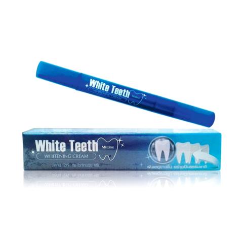 Карандаш для отбеливания зубной эмали Mistine White Teeth Whitening Cream