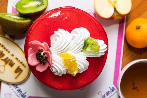 Торт круглый Микро Фруктовый