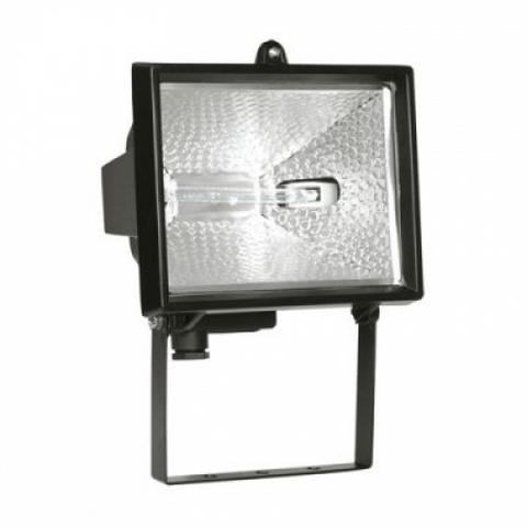 Прожектор ИО500 галогенный черный IP54 TDM