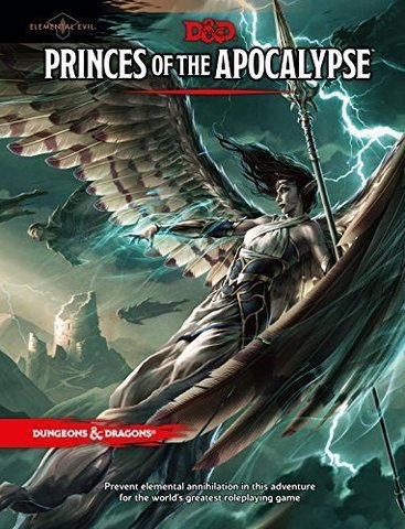 D&D Next: Princes of the Apocalypse book