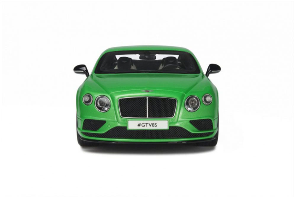 Коллекционная модель BENTLEY CONTINENTAL GT V8S COUPE 2015 GREEN METALLIC