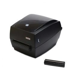 Купить Термотрансферный принтер с отделителем этикеток Mertech MPRINT TLP100 TERRA NOVA RS232-USB, Ethernet Black, 203 dpi, термопечать, ширина 108 мм, 1D/2D, Честный Знак, ЕГАИС, QR-код, Bartender