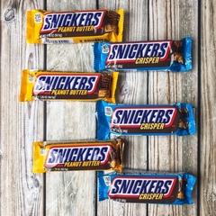 Батончик Snickers Peanut Butter с арихисовым маслом 50 гр