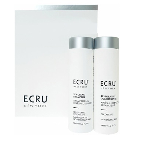 ECRU New York: Набор «Очищение и уход» (Cleanse and Condition), 60мл+ 60мл