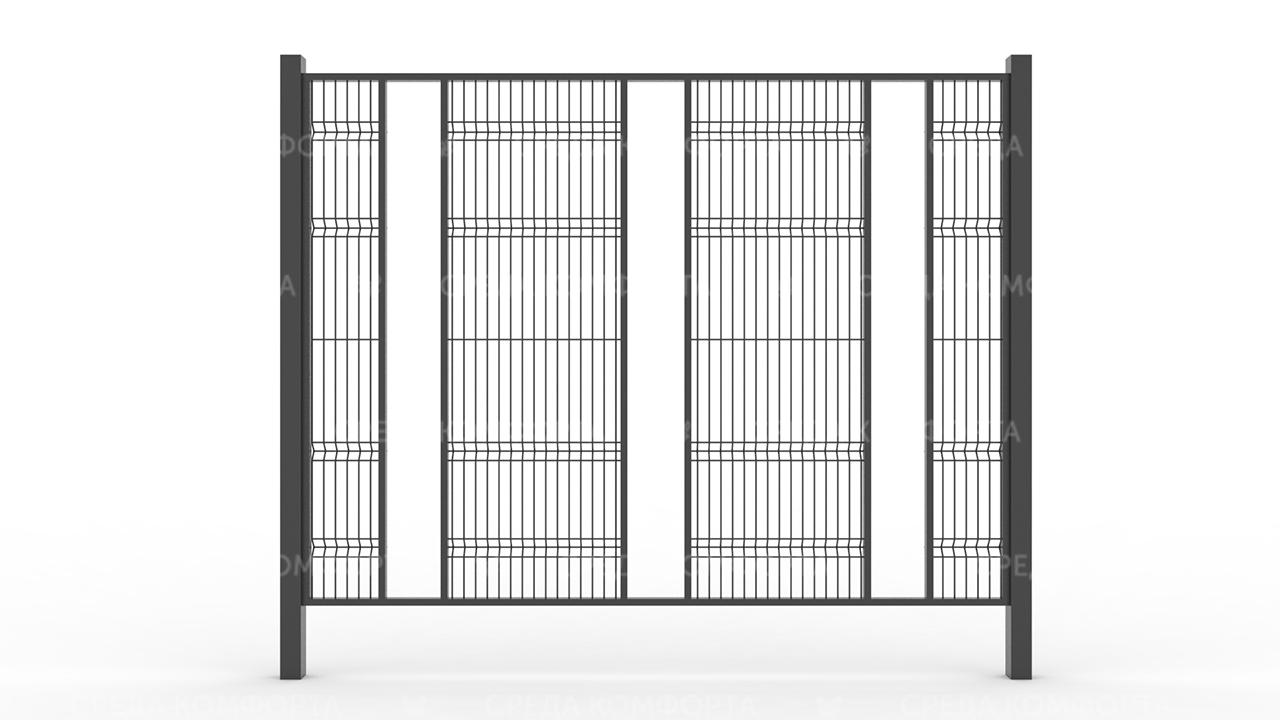 Забор 3Д ZBR0072