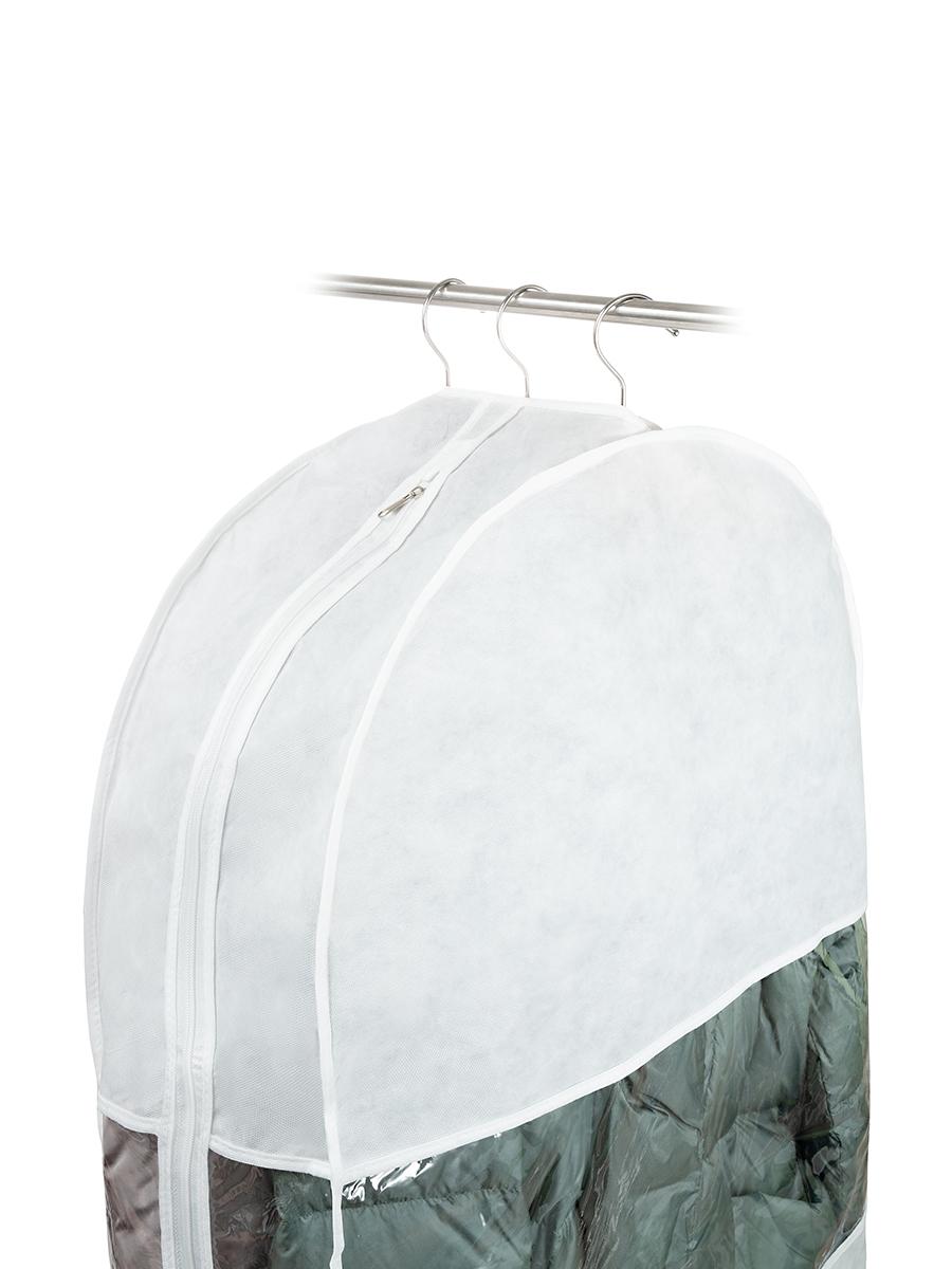 Чехол для одежды двойной длинный 130х60х20 см, Санторини