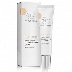 Holy Land DERMALIGHT Dark Circle Corrective Eye Cream make-up корректирующий крем с тоном 15 мл