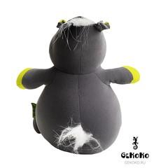 Подушка-игрушка антистресс Gekoko «Бегемот малыш Няша», желтый 5