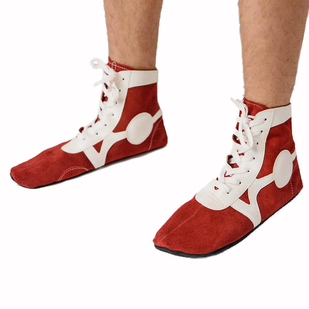 Обувь Борцовки красные 467.jpg