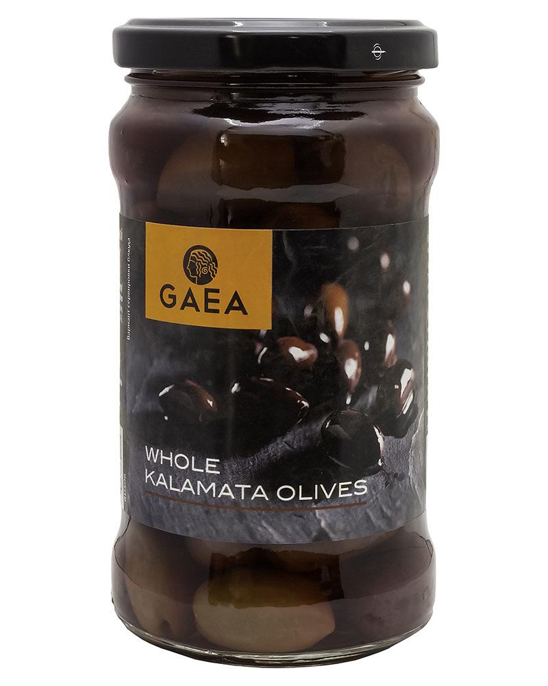 Оливки GAEA Каламата с косточкой 300гр