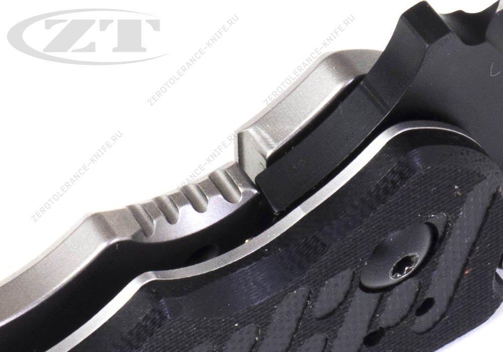 Нож Zero Tolerance 0550BLK GEN2 HINDERER - фотография