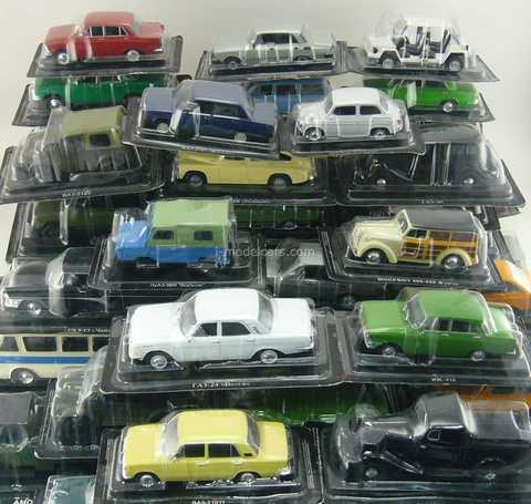 DeAgostini Auto Legends USSR and socialist countries 1:43 Full Collection #1 - #230