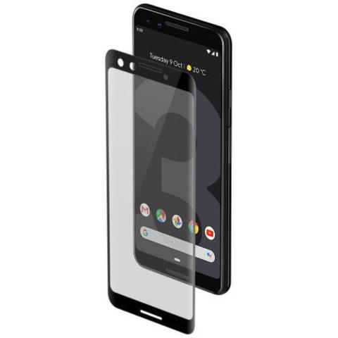 Защитное стекло 2.5d для Google Pixel 3a XL (Black / Черное)