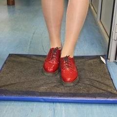 Дезковрик для дезинфекции обуви персонала