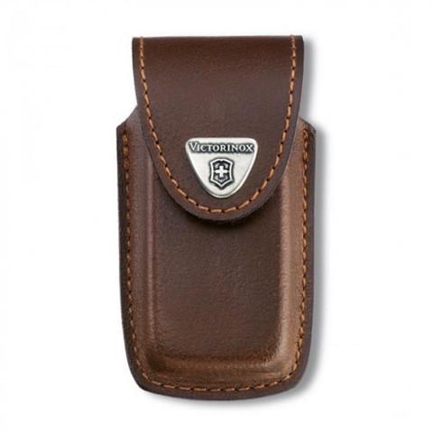 Чехол Victorinox 4.0535, коричневый (для толстых ножей длиной 91мм)