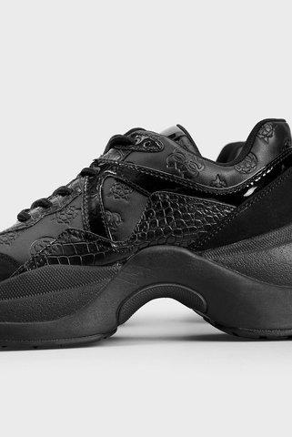 Женские черные кроссовки Guess