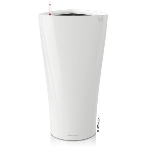 15500 Кашпо LECHUZA Дельта 30 Белое с системой полива