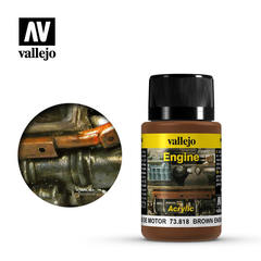 Weathering Effects 40ml. Brown Engine Soot