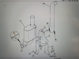 Гайка M10 крепления турбины JCB 02/291135