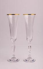 Набор бокалов свадебный «Виктория», 180 мл, фото 2