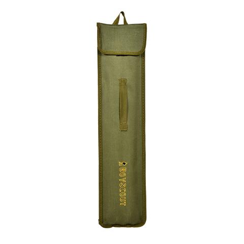 Набор плоских шампуров 45 см 6 штук в чехле