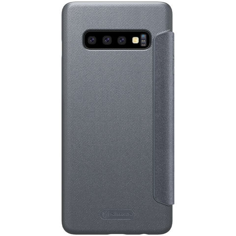 Чехол-книжка Nillkin Sparkle для Samsung Galaxy S10+ (Черный)