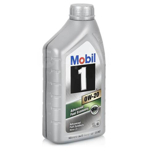 Моторное масло Mobil 1 0W-20, 1л 152560