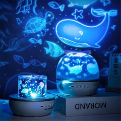 Вращающийся ночник проектор