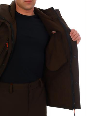 Костюм демисезонный Вожак (ткань Софтшелл коричневый)