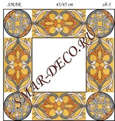 Эскиз для росписи, Зеркало 45/45см, SMAR-zb-5