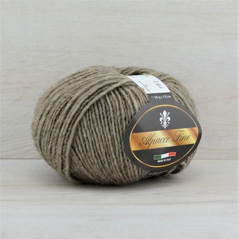 Пряжа Alpaca Fine (Альпака файн)  Серо-бежевый