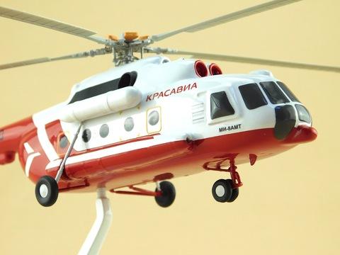 Модель вертолета Ми-8 (М1:72,Красавиа)