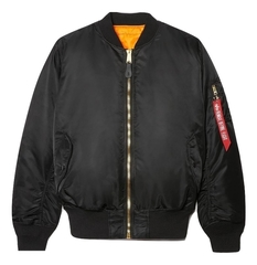 Бомбер Alpha Industries MA-1 Black (Черный)