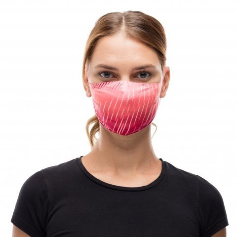 Маска защитная Buff Mask Keren Flash Pink фото 2